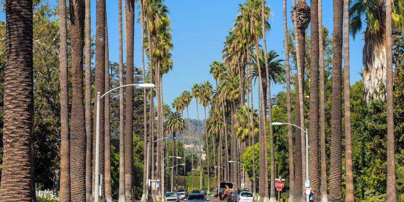 Auto huren Los Angeles